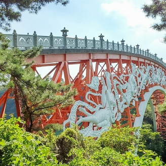 Seonimgyo Bridge to Cheonjeyeon Falls
