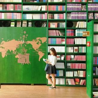 Book cafe at Heyri Art Village