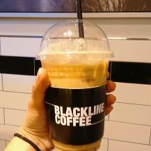 Hazelnut coffee from Blackline Coffee at Ewha Womans University
