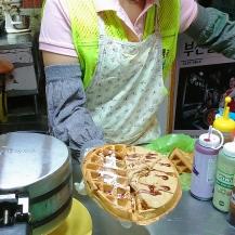 Waffle at Jagalchi Market