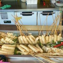 Fish cakes at Haedong Yonggungsa Temple