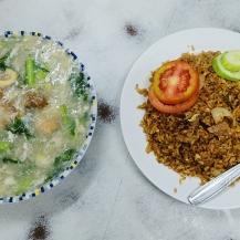 Dinner at a restaurant in Mangga Besar