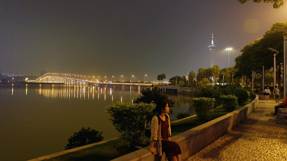 Friendship bridge and Macau Tower
