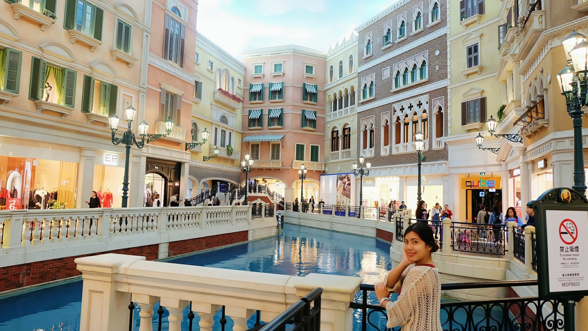 The Venetian's Grand Canal