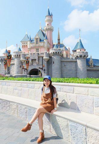 Hong Kong Disneyland's Sleeping Beauty castle