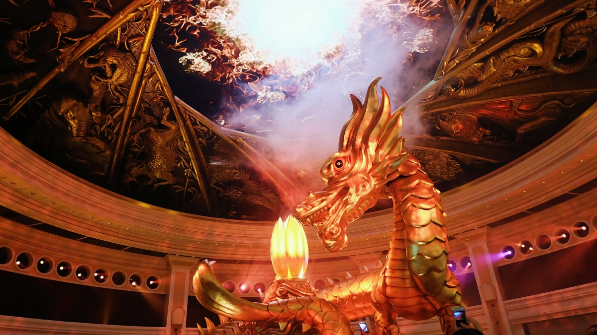 Dragon of Fortune at Wynn Macau